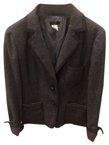 J.Crew Grey with black trim Blazer