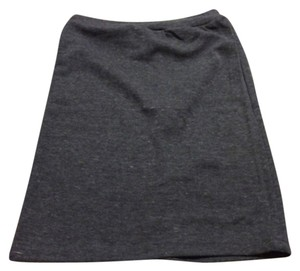 Grey Stretchy Skirt size M Mini Skirt Grey