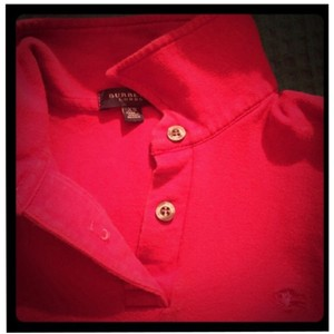 Burberry London T Shirt red