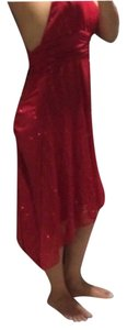 Red Sparkly Dress size M/L Dress