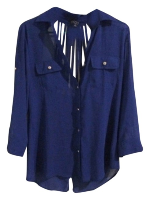 Preload https://item2.tradesy.com/images/love-culture-blue-blouse-size-4-s-5563201-0-0.jpg?width=400&height=650