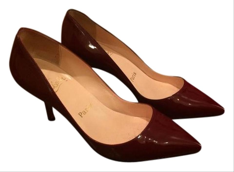 pretty nice 8f671 e8821 Christian Louboutin Red Pigalle Patent Kitten Heel 37/ Pumps Size US 7  Regular (M, B) 55% off retail
