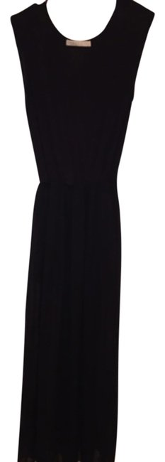 Black Maxi Dress by Malloy See Through Small