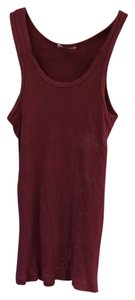 Sparkle & Fade Top Maroon