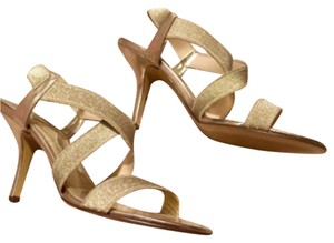 Nina Gold Pumps