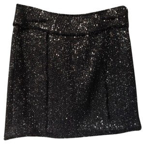 Michael Kors Holiday Mini Mini Skirt Black