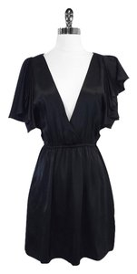 See by Chloé short dress Black Silk Short Sleeve on Tradesy