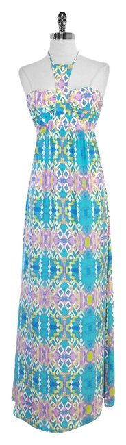 Preload https://item2.tradesy.com/images/alice-and-trixie-teal-purple-print-silk-long-casual-maxi-dress-size-0-xs-5565481-0-0.jpg?width=400&height=650