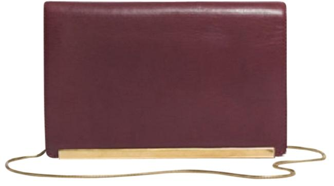 Item - The Everyday In Rich Plum Leather Clutch