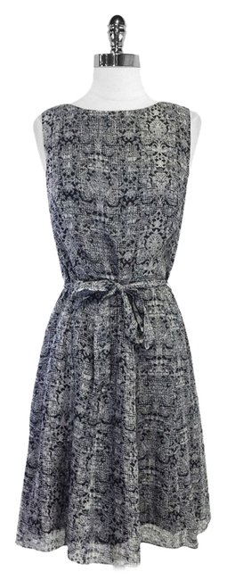 Preload https://item1.tradesy.com/images/brooks-brothers-grey-and-black-print-silk-sleeveless-above-knee-short-casual-dress-size-6-s-5565685-0-0.jpg?width=400&height=650