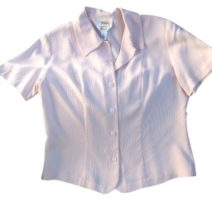 Talbots Silk Top light pink