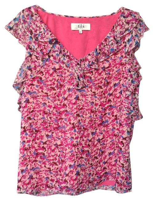 Preload https://img-static.tradesy.com/item/5566573/tibi-multicolored-floral-self-silk-with-ruffled-neckline-and-sleeves-blouse-size-2-xs-0-0-650-650.jpg