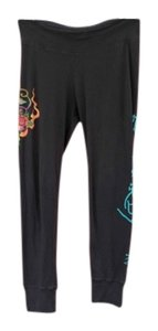 Ed Hardy Athletic Pants Black