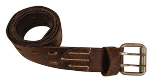 Other Dark Brown leather belt