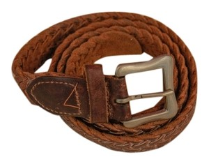 Hand Braided Brown hand braided belt made in Mexico,