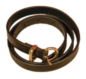 J.Crew Black leather belt