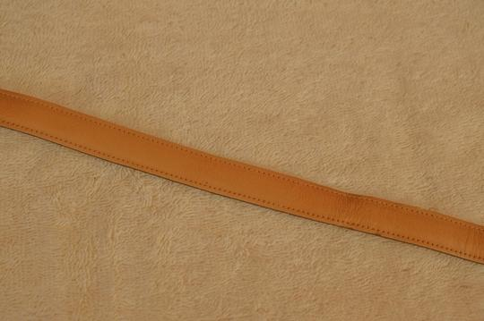 Anne Klein Anne Klein tan leather belt