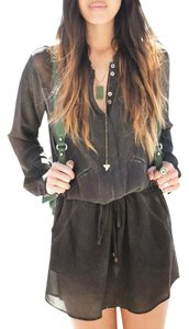 Gypsy05 short dress Distressed Silk Longsleeve on Tradesy