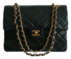Chanel Classic Front Flap Large Flap Interior Pocket Shoulder Bag