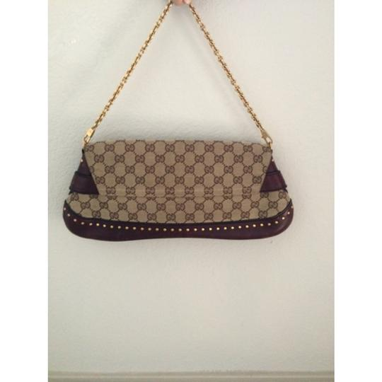 Gucci Horsebit Red Burgundy Studs Fashion Style Tom Ford For Tom Ford Multi Clutch Clutch