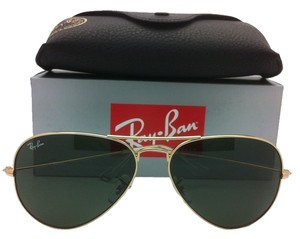 Ray-Ban New Ray-Ban Sunglasses LARGE METAL Gold Frames w/G-15 Lenses