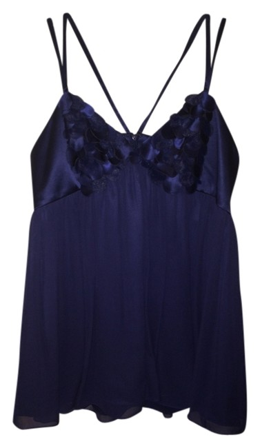 Marc Bouwer Top Deep Blue