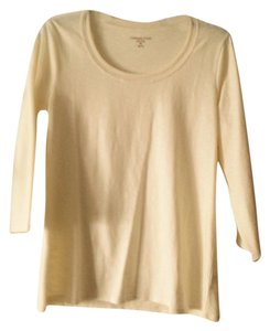 Coldwater Creek T Shirt Cream