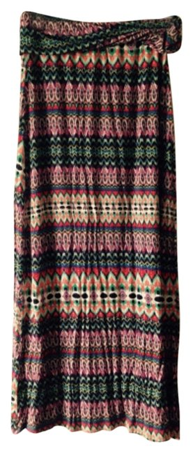 B'jewel Maxi Skirt Multi