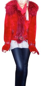 Independent Clothing Co. Fur red Jacket
