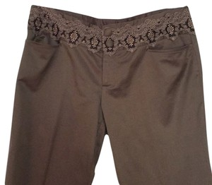 Nanette Lepore Trouser Pants Light brown