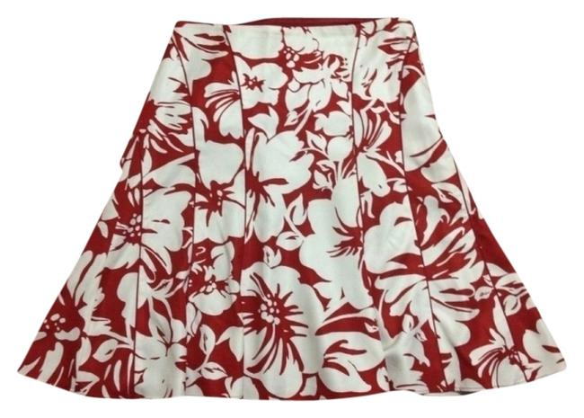 Ann Taylor Skirt Red