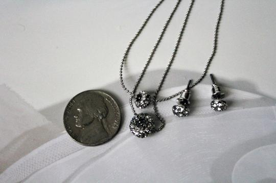 Other Colette Silver Necklace Stud Earrings Set.