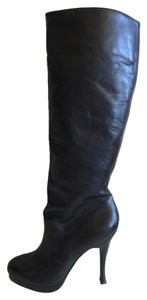 BCBGeneration Suede Black Leather Boots