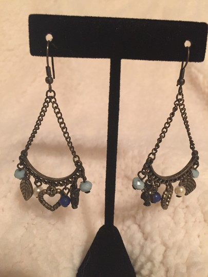 Lucky Brand Lucky Brand Antique Gold Chandelier Earrings