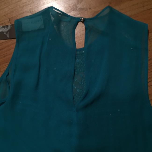 Burning Torch Top Turquoise