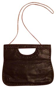Big Buddha Crocodile Clutch Convertible Shoulder Bag