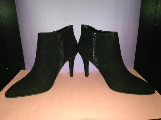 Seychelles Leather Suede black Boots
