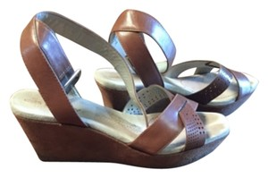DKNY Brown Sandals