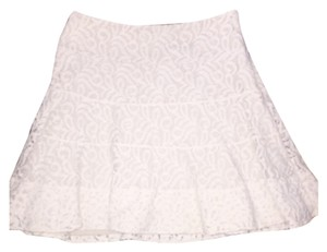 Express Mini Skirt Off white