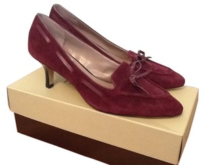 Franco Sarto Wine Burgundy Pumps