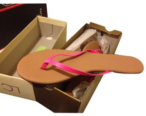 LC Lauren Conrad Hot Pink Sandals