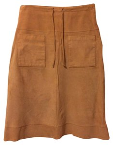 Other Skirt Tan Suede