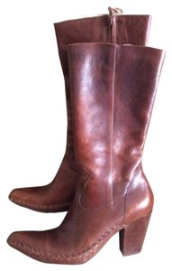 Frye Cowgirl Brown Boots