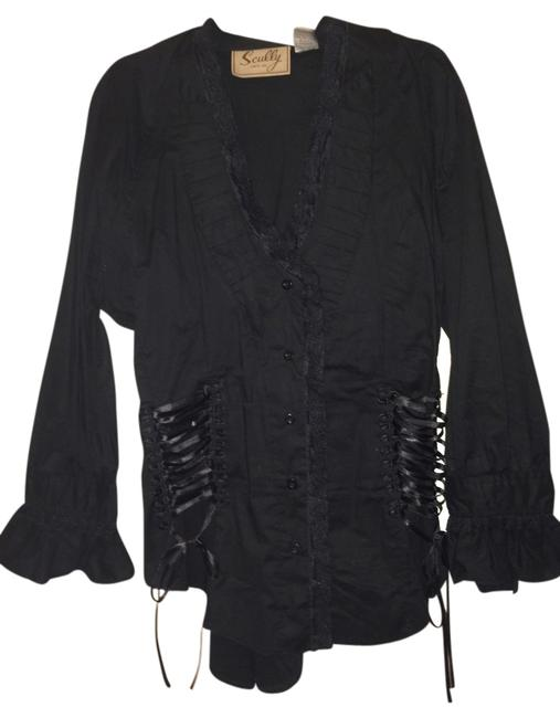 Preload https://item1.tradesy.com/images/scully-pirate-vintage-look-top-black-557245-0-0.jpg?width=400&height=650