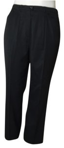 Escada Straight Pants Blac