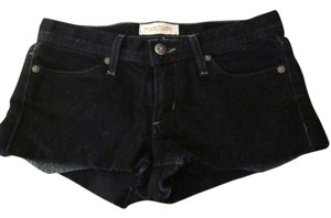 Habitual Jeans Denim Cut Off Shorts Dark Denim