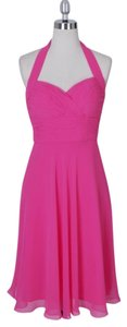 Halter Sweetheart Pleated Dress