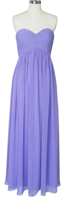 Other Strapless Sweetheart Chiffon Dress