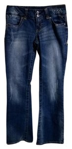 Grane Boot Cut Jeans-Medium Wash