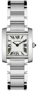 Cartier Cartier Women's Tank Francaise Stainless Steel Watch W51008Q3